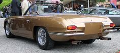 1965 Lamborghini 350 GTS Touring Maintenance of old vehicles: the material for new cogs/casters/gears/pads could be cast polyamide which I (Cast polyamide) can produce