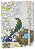 "Live Nobly Bird Bound Lined Journal 5"" x 7"""