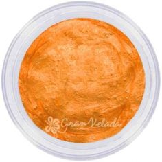 Mica Nacarada, Naranja Calabaza. Pigmento Perlado en Polvo.