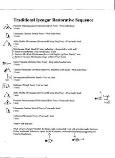 The Complete Yoga Plus Blog: Yoga Sequences: Iyengar Restorative Sequence