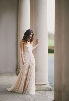 Ivory Embellished Jenny Packham Wedding Dress | Photo by Paula O'Hara