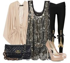 Fun outfit for a night out on the town!