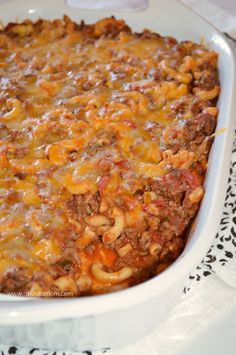Chili Mac Casserole is a hearty and comforting casserole recipe that is sure to please.