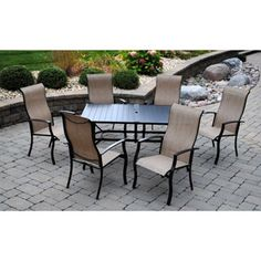 Find This Pin And More On For The House. Seven Piece Dining Set ...