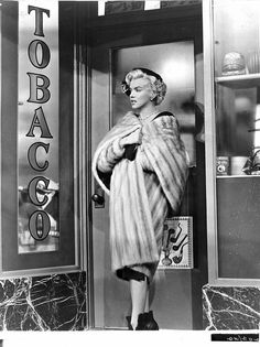 Marilyn on the set of There's no Business like Show Business, 1954.