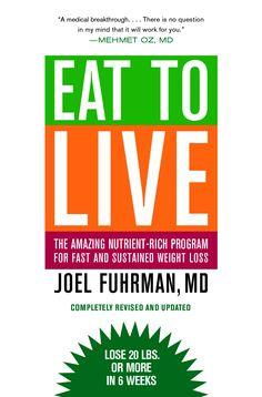 FREE Eat to Live book click the link http://files.meetup.com/3189652/Joel%20Fuhrman%20-%20Eat%20To%20Live.pdf