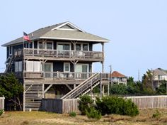 5 BR 800 Outer Banks Rentals Ocean Front,Almost Home,Salvo NC cape hatteras