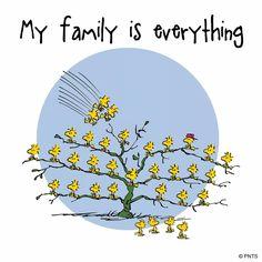 Snoopy ❤ Family