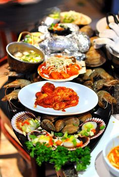 Spicy Korean seafood ~ Yum yum, give me some!!!