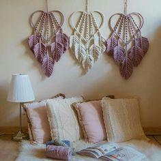 Macrame Design, Macrame Art, Macrame Projects, Macrame Knots, Macrame Wall Hanging Patterns, Macrame Patterns, Macrame Curtain, Metal Tree Wall Art, Macrame Tutorial