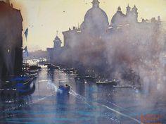 Alvaro Castagnet, 1954 ~ Watercolor painter | Tutt'Art@ | Pittura * Scultura * Poesia * Musica |