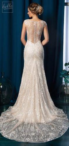 Amelia Sposa Wedding Dresses 2019 - Belle The Magazine Amelia Sposa Wedding Dress, Gatsby Wedding Dress, Wedding Dress Gallery, Western Wedding Dresses, Luxury Wedding Dress, Gorgeous Wedding Dress, Dream Wedding Dresses, Beautiful Gowns, Bridal Dresses