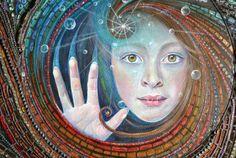 VENDE arte del mosaico técnica mixta acrílico por NikkiEllaWhitlock
