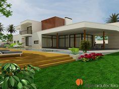 #Edificios #Tropical #Balcon #Patio #Piscina #Exterior #Dibujos #Loft #Plantas #Arboles #Muebles de exterior #Tumbona #Fachada