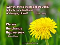 Inspirational Quotes about Change from www.inspirationaltravel.org