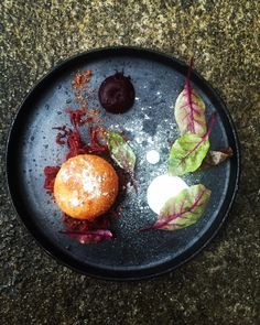 Smoked Goats Cheese Beetroot & Buttermilk #chef #cheflife #chefstalk…