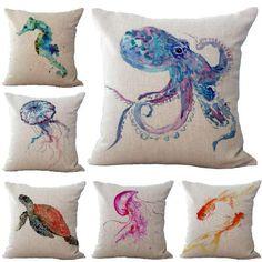 Sea Animal Pillowcases