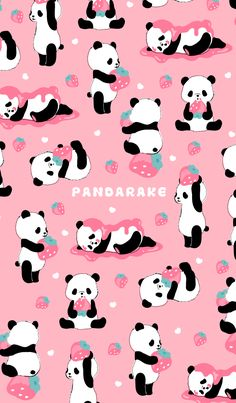 Pandas in Different Poses they are to Cute.🐼❤️🐼 Pandas in Different Poses they are to Cute. Panda Wallpaper Iphone, Unicornios Wallpaper, Cute Panda Wallpaper, Cute Disney Wallpaper, Kawaii Wallpaper, Animal Wallpaper, Aztec Wallpaper, Moving Wallpapers, Panda Wallpapers