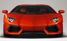 a Lamborghini Aventador