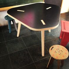 CAFE table by opendesk.cc #opendesk #cncfurniture @open_desk #opensourcefurniture