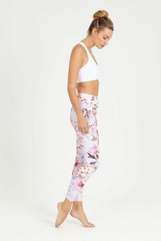 37d7fdcfb2030 Rambling Rose High Waist Printed Legging - 7/8