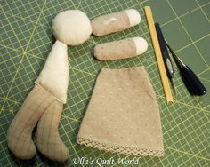 Ulla's Quilt World: Quilted angel, pattern and tutorial
