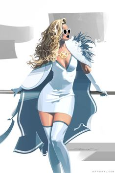 Marvel Art, Marvel Comics, X Men, Marvel Characters, Fictional Characters, Rosie The Riveter, Man Child, Emma Frost, White Queen