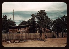 Home of Jim Norris, homesteader, Pie Town, New Mexico  (LOC) by The Library of Congress, via Flickr