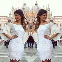 Mais um branquinho, opção para o final de ano #unicasbyarianecanovas @unicas_store #unicasviaja #italia #colecaovenezia #blogtrendalert
