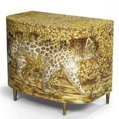 Piero Fornasetti, Leopard Chest of Drawers Hand Painted Furniture, Unique Furniture, Diy Furniture, Furniture Design, Decoration, Art Decor, Animal Print Furniture, Piero Fornasetti, Interior Decorating