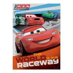 Disney Cars 3 Lightning McQueen Wallet Great Gift Holiday