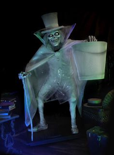 """Haunted Mansion """"Hatbox Ghost"""" Replica Figure - handmade by Kevin Kidney & Jody Daily"""