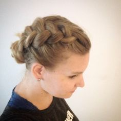 Pancaked dutchbraid