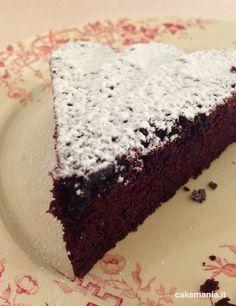 torta all'acqua e cacao