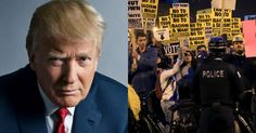 The mainstream media won't cover this.    Trump Makes Incredible Move to Help Cops Holding Back Protesters at His Hotel