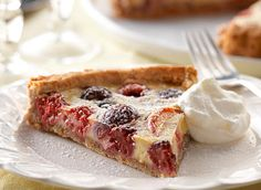 Summer Fruit Custard Tart - Recipes | Dairy Goodness - Nourish your day