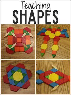 Teaching Shapes in Pre-K