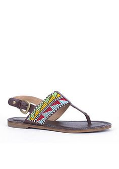 11a69288ec0cf Pikolinos Sao Paolo Maasai Beaded Thong Sandal