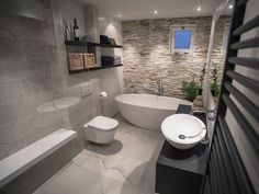 Bathroom layout inspiration