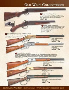 Old West Museum Quality Rifle Collections