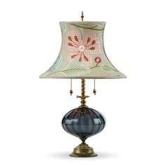 Joyce by Susan Kinzig and Caryn Kinzig: Mixed-Media Table Lamp available at www.artfulhome.com