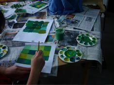Art Lessons For Kids - Monochromatic Colors