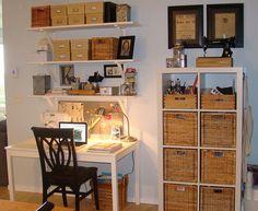 desk/craft area