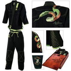 Century Martial Arts Ami James Limited Series Snake Brazilian Jiu Jitsu Gi