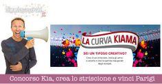 Concorso Kia: crea lo striscione e vinci Parigi