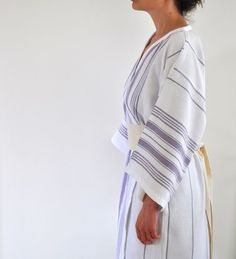 Turkish towel bathrobe, this looks super comfy. Turkish Bath Towels, Towel Storage, Home Spa, Clean Face, Piece Of Clothing, Style Me, Relax, Comfy, Pure Products