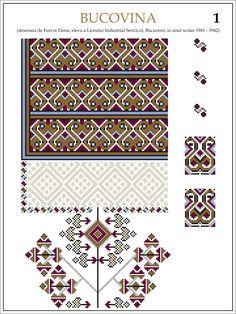 eleva - ie Bucovina (JPEG Image, 1200 × 1600 pixels) — Масштабоване Simple Cross Stitch, Cross Stitch Charts, Cross Stitch Patterns, Folk Embroidery, Cross Stitch Embroidery, Embroidery Patterns, Embroidered Clothes, Textiles, Beading Patterns
