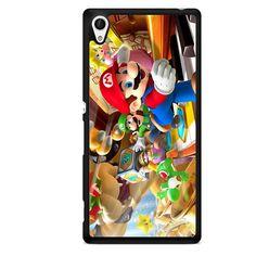Mario Bross Game TATUM-6888 Sony Phonecase Cover For Xperia Z1, Xperia Z2, Xperia Z3, Xperia Z4, Xperia Z5