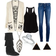 """Tribal Sweater"" on Polyvore"