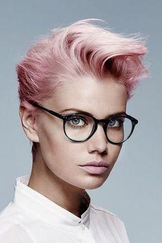 Roze haarkleur